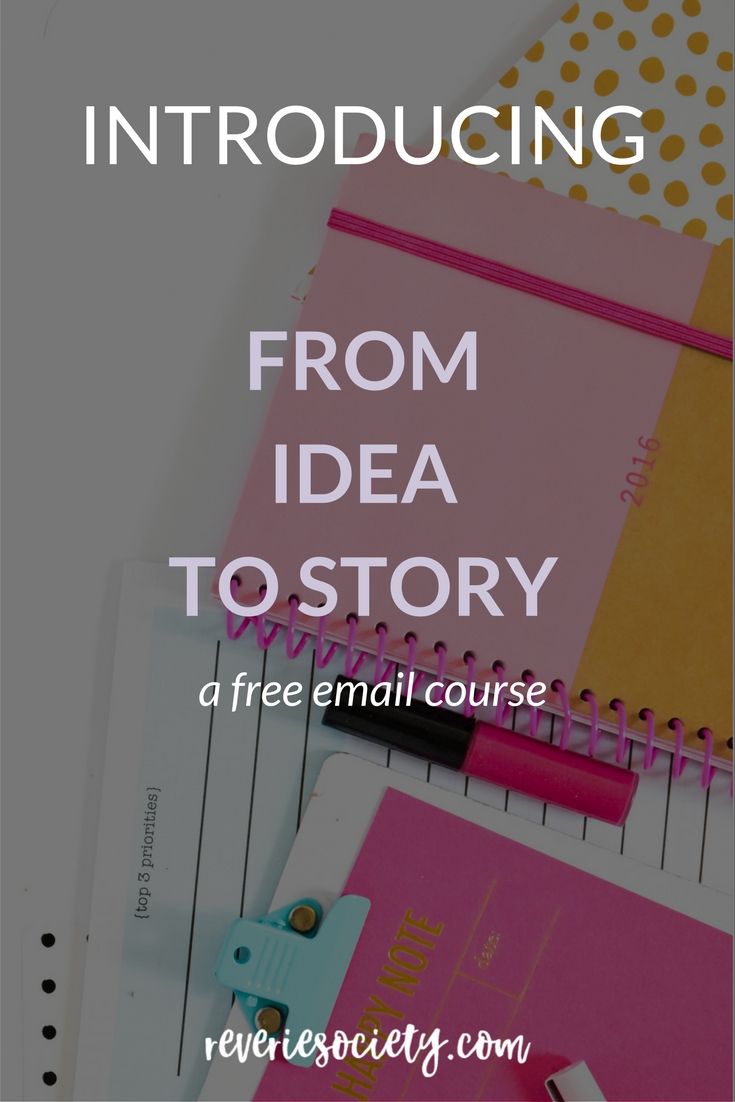 Introducing From Idea to Story: Outlining but without the pressure