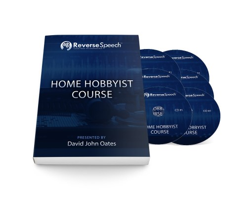 Reverse Speech Home Hobbyist Course