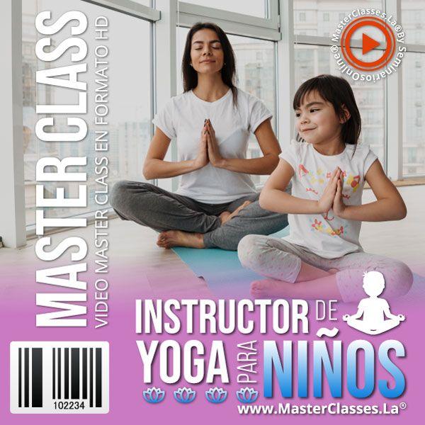 Instructor de Yoga para Niños by reverso academy cursos online clases