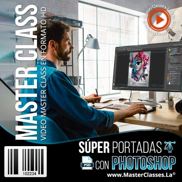 super portadas con photoshop by reverso academy cursos clases