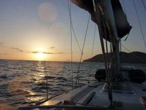Navigation vers Filicudi, Eoliennes...