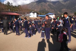 Ecole de Melamchigaon, Helambu