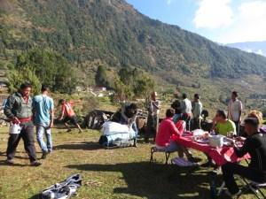 Népal, Bigu Gompa