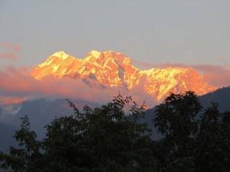 Népal, Rolwaling, Gaurishankar