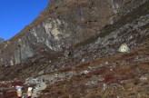 Népal, Rolwaling, retour