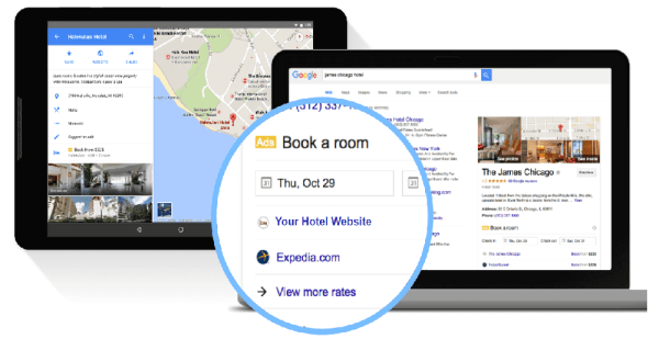 Google Hotel Ads Commission Program for Independent Hotels