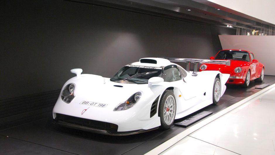Porsche GT1 - extrémně vzácné