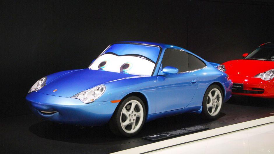Porsche 911 z filmu Auta