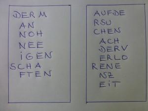 Schriftdesign (Hihi) und Foto: Bernd Berke