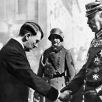 Hitler und Hindenburg in Potsdam.