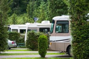 Camping in Reih und Glied (Foto: Normen Ruhrus)