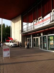 Mülheim: Die Stadthalle im Zeichen des Klavier-Festivals Ruhr. Foto: Häußner