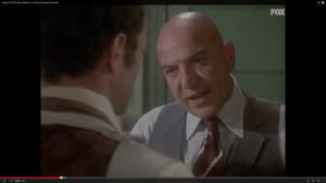 """Telly Savalas als """"Kojak"""" (Screenshot aus: http://www.youtube.com/watch?v=xIzHr8Wuz5Y)"""