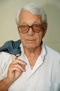 Herbert Reinecker im Jahr 1995. Foto: ZDF/Hermann Roth