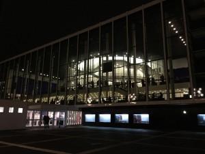 """Am Abend vor der """"Tosca"""": das Musiktheater im Revier Gelsenkirchen. Foto: Georg Lange"""