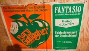 """Plakat des Dortmunder Kult-Clubs """"Fantasio"""", 1971 (Ruhr Museum / Ruud van Laar / Foto: Bernd Berke)"""
