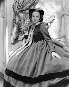 "Olivia de Havilland (Publicity-Foto für den Film ""Gone with the Wind"" - ""Vom Winde verweht"" - MGM/EBay/Wikimedia Commons) - https://commons.wikimedia.org/wiki/File:Olivia_de_Havilland_Publicity_Photo_for_Gone_with_the_Wind_1939.jpg"