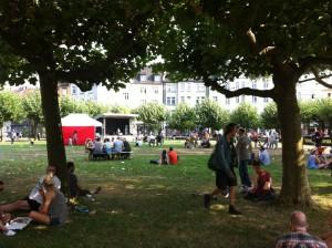 Impression vom Borsigplatz (Fotos: rd-man)