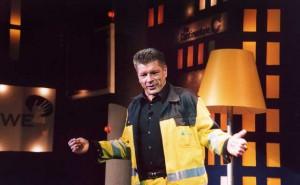 Bruno Knust im Jahr 2007 bei einem Auftritt in seinem Dortmunder Theater Olpketal. (Foto: http://www.guenna.de - Wikipedia-Lizenz: https://creativecommons.org/licenses/by-sa/3.0/)