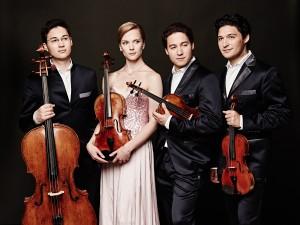 Das Schumann Quartett. Foto: Kaupo Kikkas.