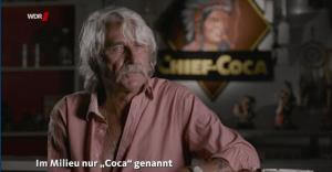 """Kriminelle Vergangenheit im Ruhrgebiet: der Typ, den alle nur """"Coca"""" nennen. (Screenshot aus der besprochenen WDR-Sendung)"""