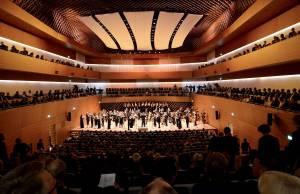 Bochums neuer Konzertsaal: 960 Plätze, vier Jahre Bauzeit, 38 Mio Euro. (Foto: Lutz Leitman)