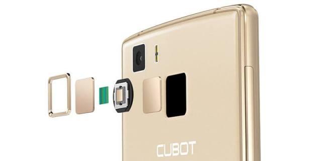 Cubot S600 Finger Print Sensor