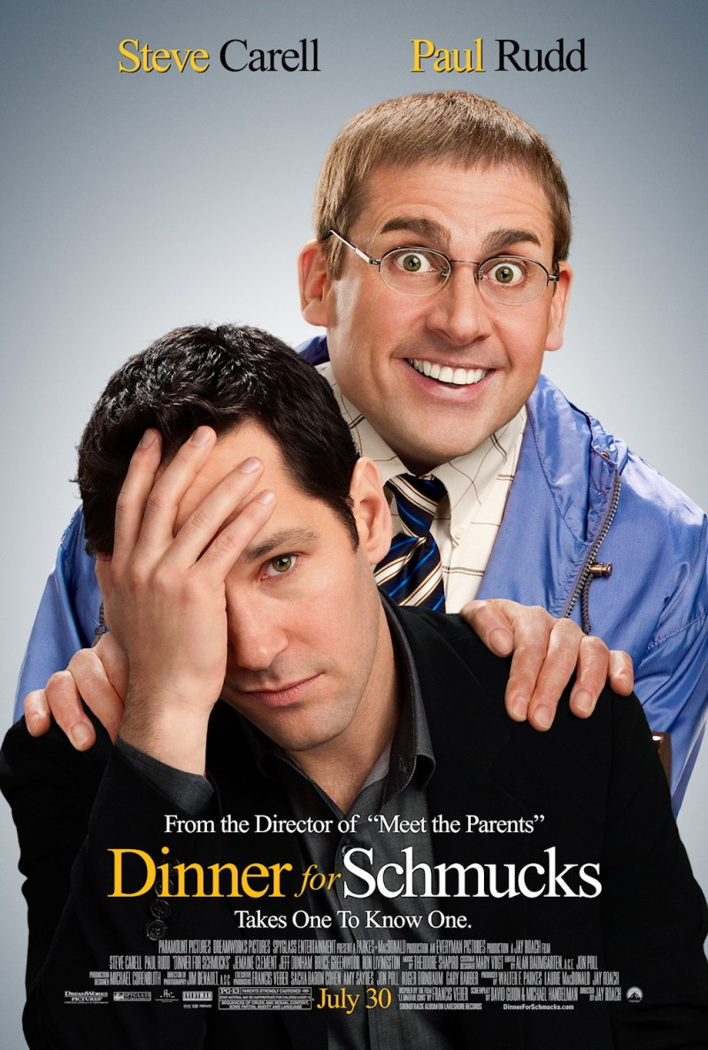 Dinner For Schmucks Movie Poster