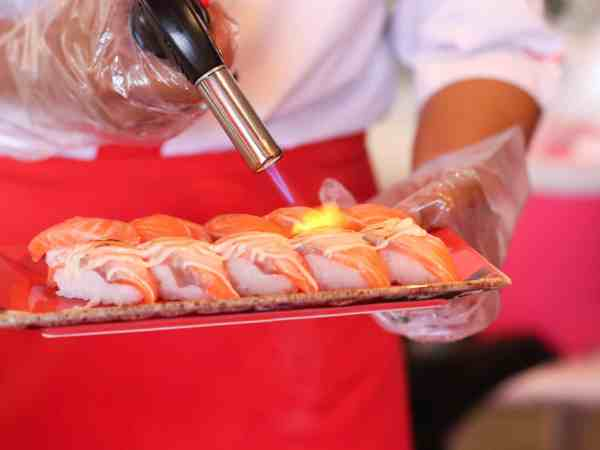 Cannello da cucina in uso