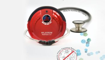 Milagrow Launched RedHawk 3.0 Cleaning Robot with World's Large Dustbin & Brush