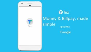Tez By Google- Payment and Billpay