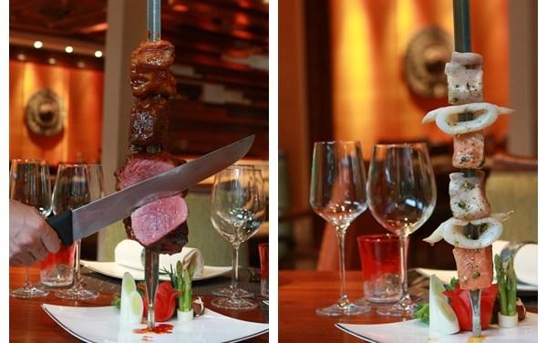 ดินเนอร์แบบมีสไตล์ที่ Rio Restaurant & Wine Bar