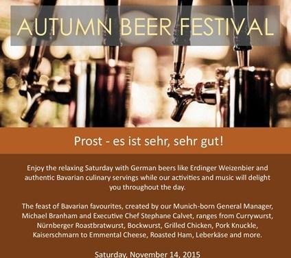เทศกาลเบียร์เยอรมัน ที่โฟร์ซีซั่นส์ รีสอร์ท เชียงใหม่