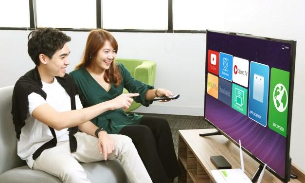 """""""เอไอเอส ไฟเบอร์"""" ฉีกตลาด! โดดจับมือ ธุรกิจสมาร์ททีวี ครั้งแรก! จัดโปรคุ้มเว่อร์ ติดเน็ตบ้าน พ่วงส่วนลดสมาร์ททีวี 50%  ขยายความสุขให้บ้านยุคใหม่"""
