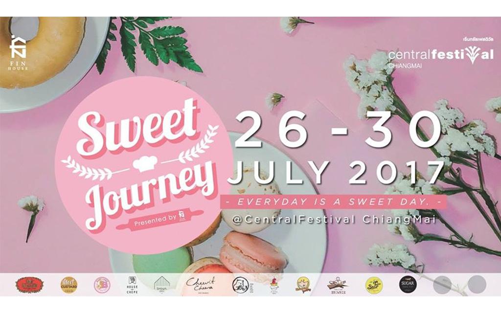 Sweet Journey ชวนร่วมเปิดดินแดนแห่งความหวาน