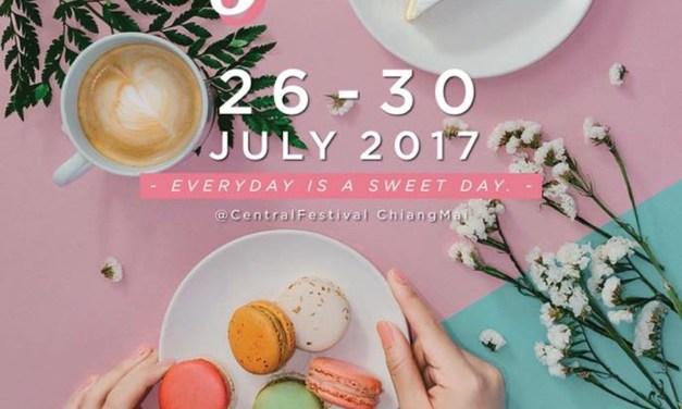 """""""Sweet Journey""""ครั้งแรกกับการรวมตัวร้านขนมหวานชื่อดัง ในวันที่ 26-30 กรกฎาคม ตั้งแต่เวลา 11.00น.-21.00น ณ ลานโปรโมชั่น ชั้น 1 ศูนย์การค้าเซ็นทรัลเฟสติวัล เชียงใหม่"""