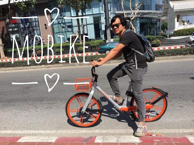 MOBIKE บริการจักรยานอัจฉริยะมาถึงเชียงใหม่แล้วจ้า ไม่เกิน30นาทีปั่นฟรีไปเลย!