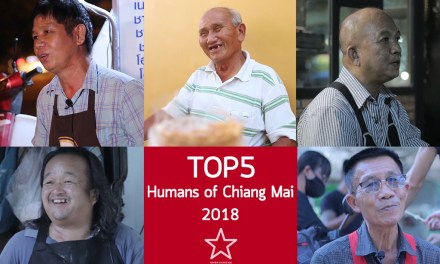 TOP 5 Humans of Chiang Mai 2018