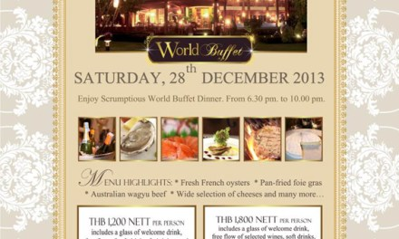 Scrumptious World Buffet Dinner at Le Crystal