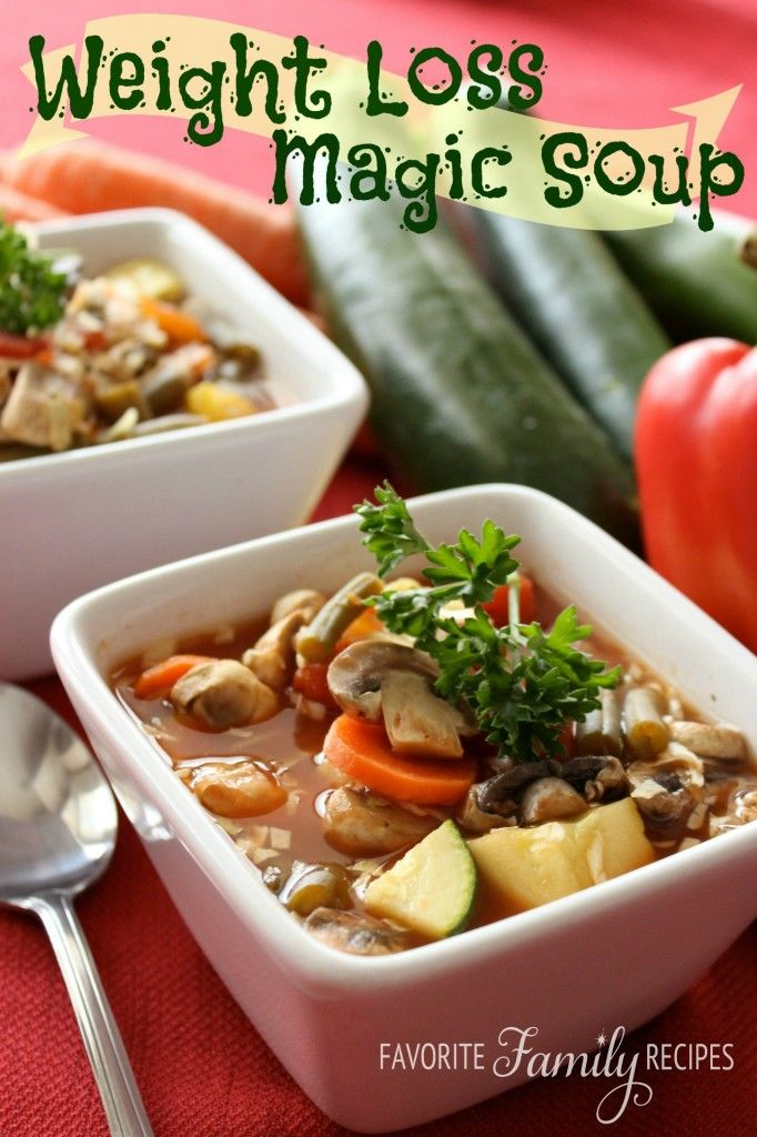 Magic Soup And Lose Weight Fast