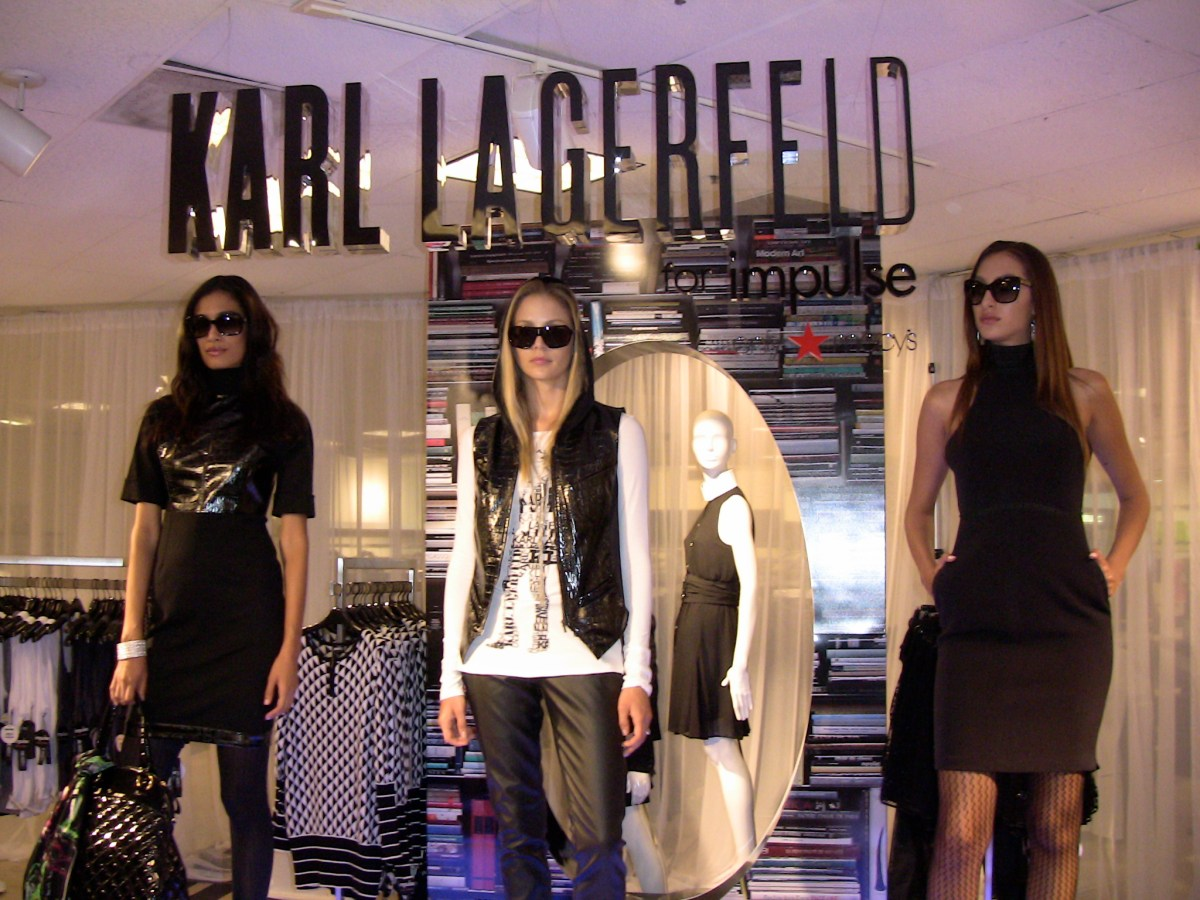 Lagerfield Creating For Macy's-In September 2018!