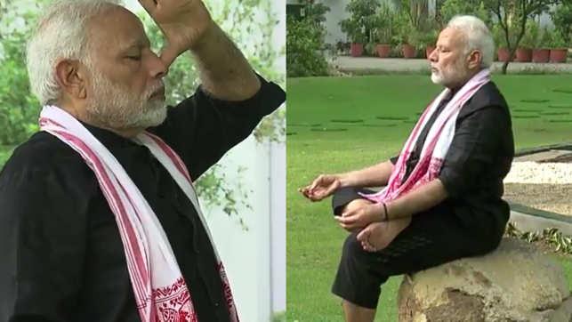 Prime Minister Modi Exercising!