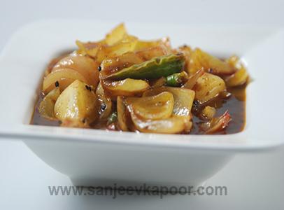 Easy Indian Onion Sabzi Recipe