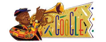Google Doodle Celebrates Hugh Masekela