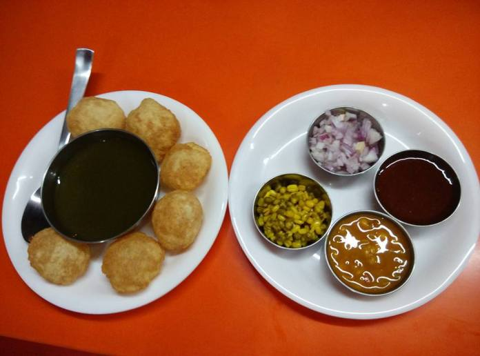 Pani Puri @ Bajirao Food Court, JP Nagar 2nd Phase