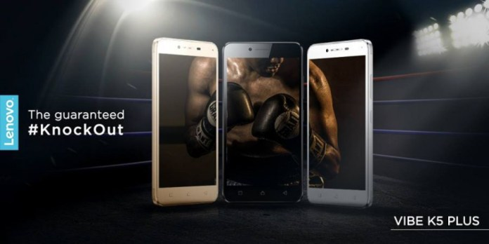 Lenovo Vibe K5 Plus launched 8499