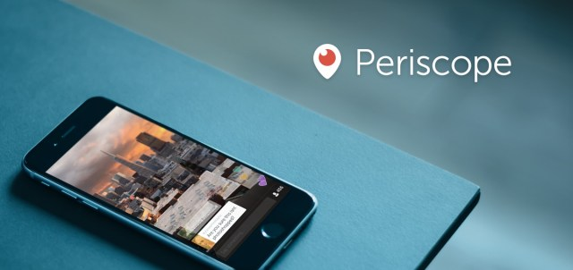 Live streaming apps: Periscope