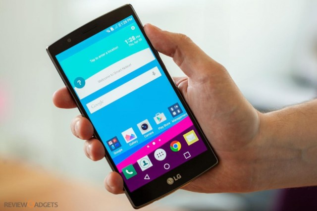 LG G4 has a 5.5-inch screen which is bright and sharp