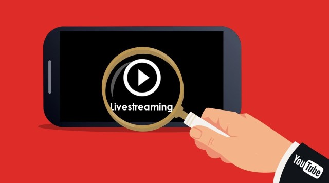Live streaming apps: YouTube Live