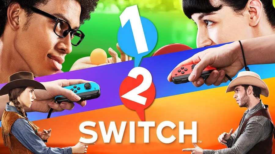 The Best Switch Games to Play with Friends and Family     Review Geek 1 2 Switch is ideal even when playing amongst family members who don t game  often  Offering 28 different mini games  it has you completing various  tasks